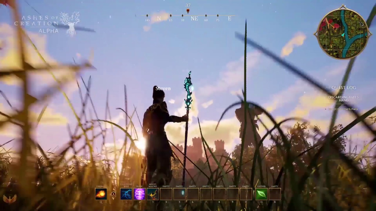 Ashes of Creation LIVE STREAM with MMORPG Gameplay Update