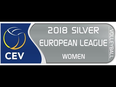 2018 VOLLEYBALL  SILVER EUROPEAN LEAGUE WOMAN.  GEORGIA - ALBANIA