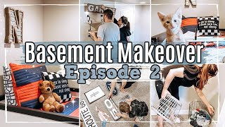 *NEW* BASEMENT MAKEOVER | EPISODE 2 BEDROOM TRANSFORMATION :: DECORATE & CLEAN WITH ME 2020