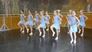 Городской смотр уроков Танец ДШИ Поленова
