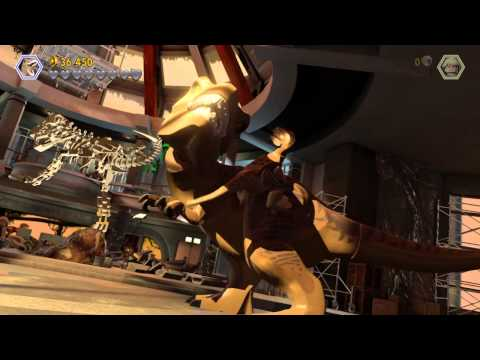 LEGO® Jurassic World T-rex Vs Velociraptor
