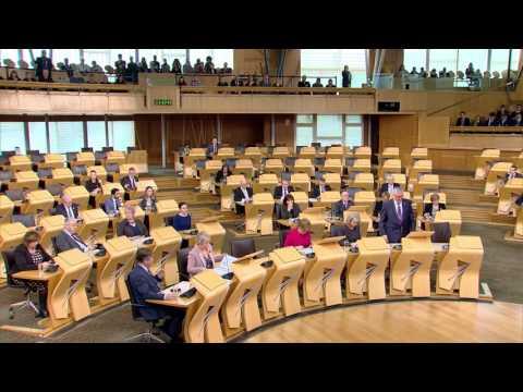 General Questions - Scottish Parliament: 3rd November 2016