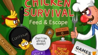 Chicken Survival Feed  Escape - Game Show