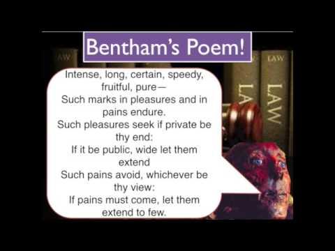 4. Bentham's Utilitarianism