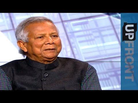 Muhammad Yunus: Aung San Suu Kyi 100 percent to blame for Rohingya plight 🇲🇲 - UpFront