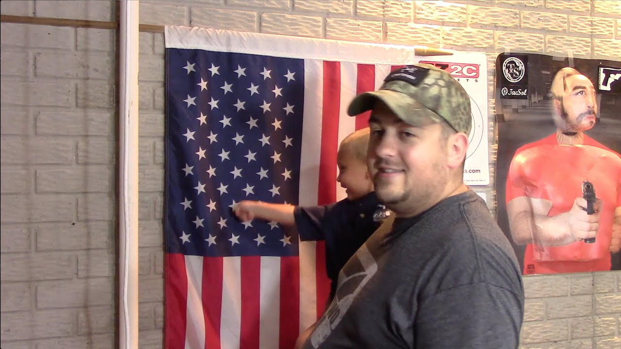 Hang Flag On Wall how to vertically hang the u.s. flag - youtube