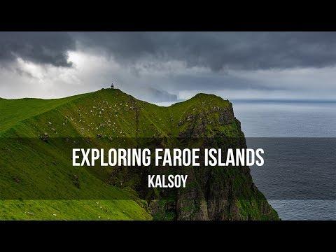 Exploring Faroe Islands - Kalsoy