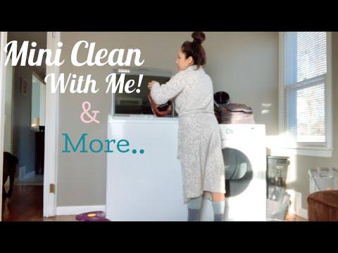 Mini Clean with Me & Should I Buy that LOUIS VUITTON BAG?