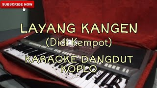 Download Mp3 Layang Kangen - Karaoke Dangdut Koplo