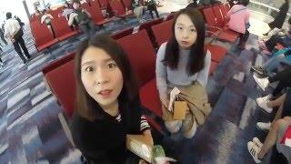 gs71小隊台北之旅 一 香港國際機場 臺灣桃園國際機場