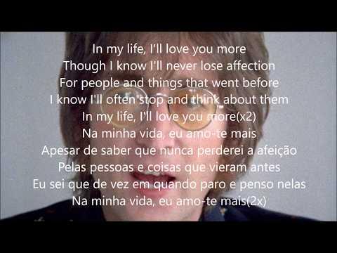 In my Life com Lyrics e tradução em português