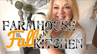 Farmhouse kitchen || Decorate with me