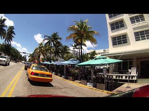 Miami Beach: Ocean Drive from North to South