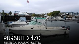 Used 2001 Pursuit 2470 For Sale In Billerica, Massachusetts