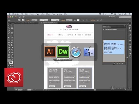 Transform Visual Designs Into CSS Styles Using CSS And SVG Export | Adobe Creative Cloud