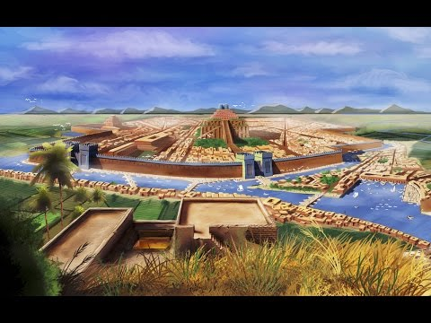 a description of the first two civilization in the world as egyptians and the sumerians in the regio