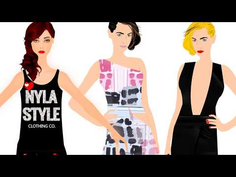 Digital Fashion Pro Fashion Design Software  - how to design digital clothing & sketches