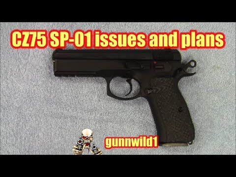 CZ75 SP-01 issues and future plans