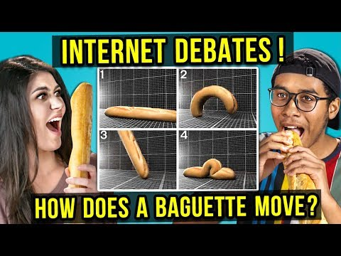 Why People Are FREAKING OUT About Baguettes | INTERNET DEBATES (React)