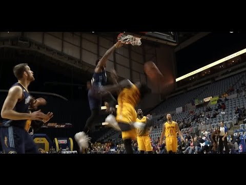 TOP 10 DUNKS from the D-League 2016-2017