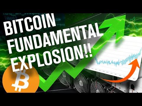 BITCOIN's Parabolic RUN Begins W/ This Fundamental! It's Exploding BTW!