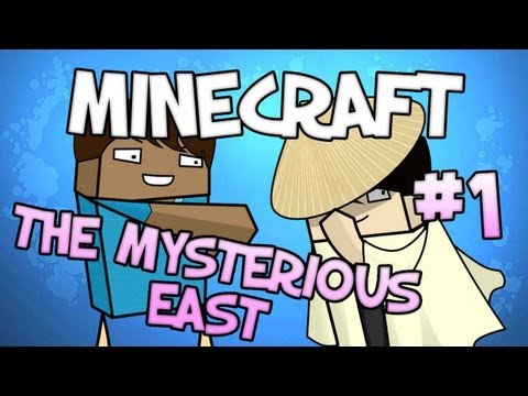 Minecraft - THE MYSTERIOUS EAST - An Asian Adventure! - Part 1