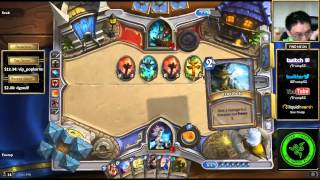 Hearthstone Arena: Out of control Unbound Elemental