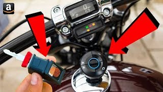 Top 6 Best Bike Gadgets On Amazon 🏍 Bike Extra Light Fitting 🚲 Bicycle Brake Light And Turn Signal