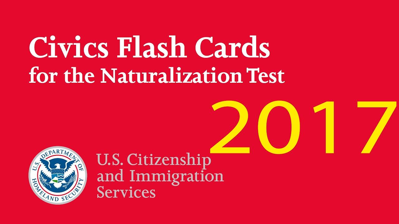 US CITIZENSHIP TEST VIRGINIA 2017