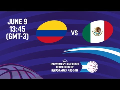Colombia vs Mexico - Group B - FIBA U16 Women's Americas Championship