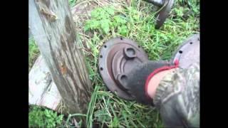 Ремонт блокировки трактора МТЗ 82