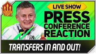 De Gea Stays! Solskjaer Press Conference Reaction! Man Utd Transfer News
