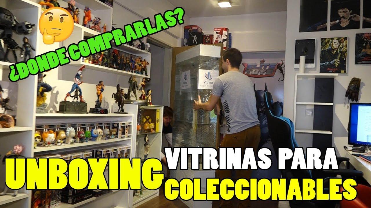 Donde Comprar Vitrinas Para Coleccionables Youtube