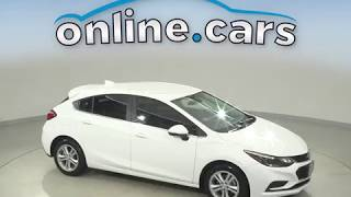 A11319NA Used 2017 Chevrolet Cruze LT FWD 4D Hatchback White Test Drive, Review, For Sale