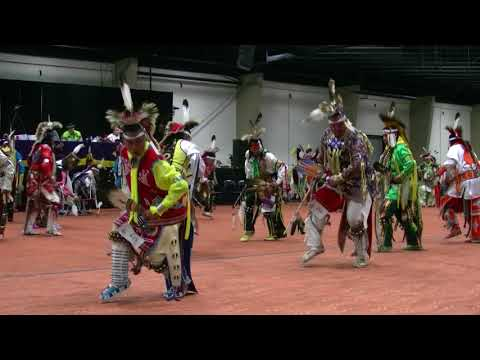 Wild Band of Comanches - Men's Southern Straight Contest  - Choctaw Casino Pow Wow - Durant 2017