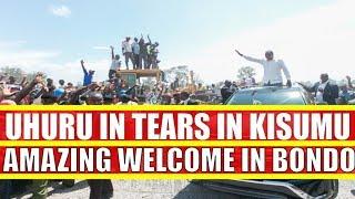 Uhuru Kenyatta, Raila Odinga and William Ruto Never Seen Reception in Kisumu and Bondo