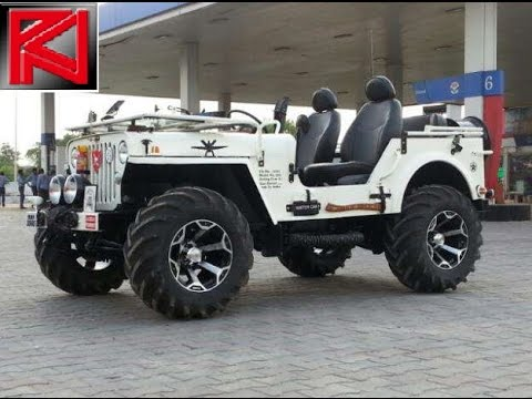 Modified Jeeps Mahindra Classic Thar Willys Wrangler Indian Offroads 4x4 Custom Pics