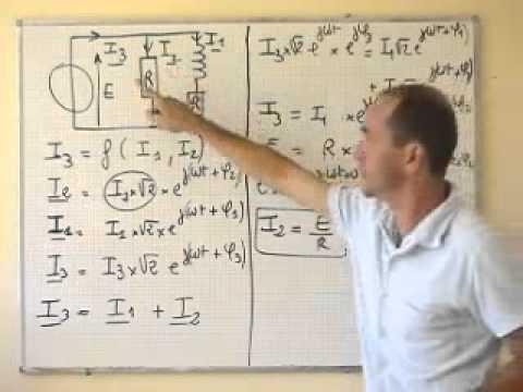 Electrocinetique Regime Sinusoidale Calcul De La Valeur Efficace Du Courant