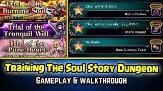 Final Fantasy Brave Exvius - Training The Soul Gameplay