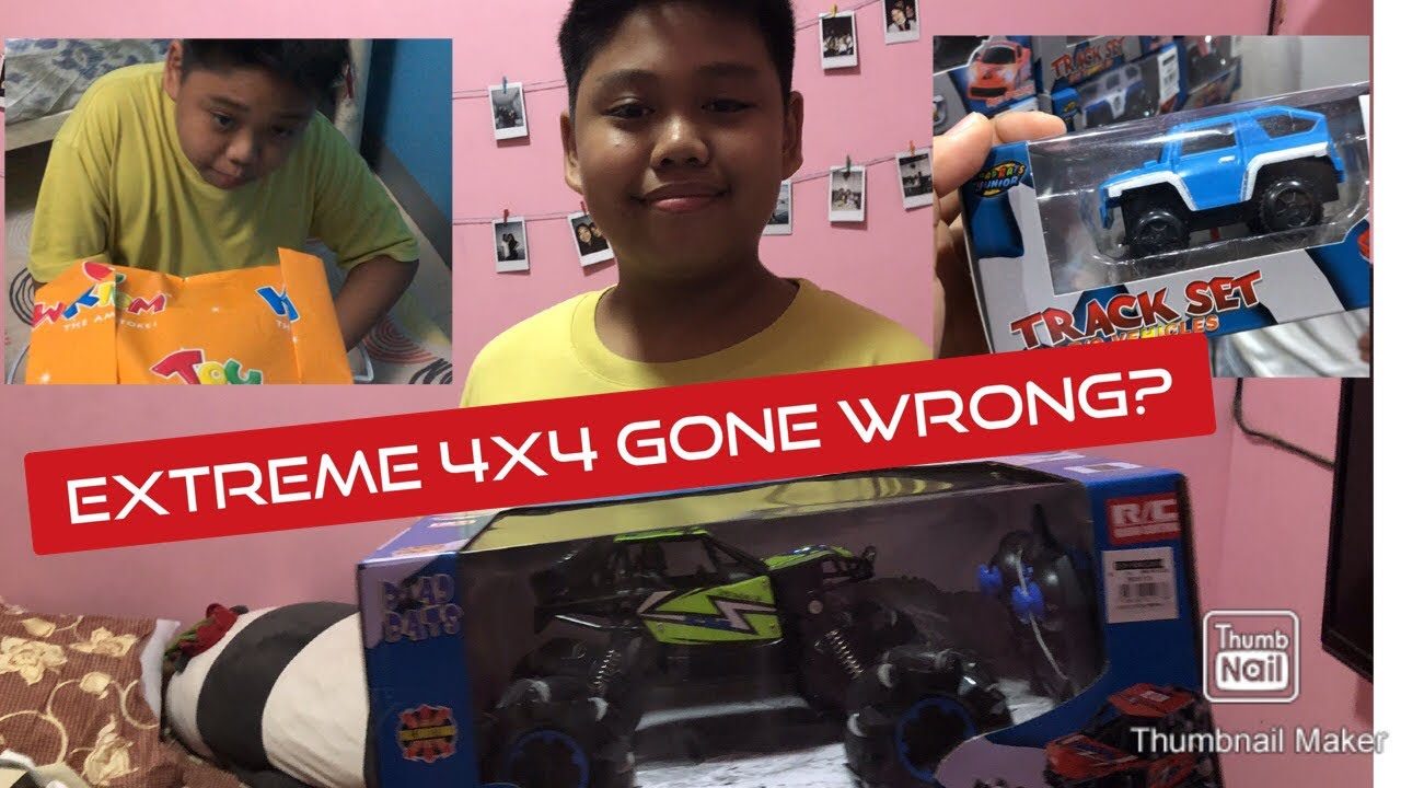 Extreme 4x4 gift gone wrong?!! | Anna