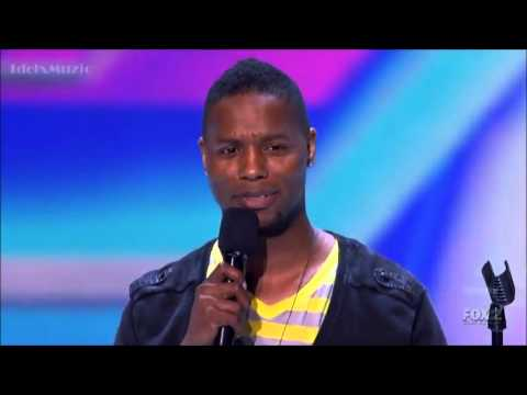 Daryl Black - Stereo Hearts - X Factor USA (Audition)