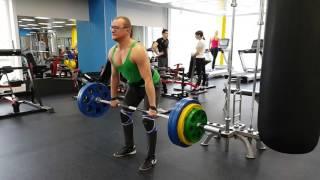 Становая тяга 150 кг на 6 раз  08 03 2016