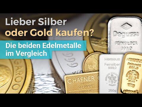 Lieber Silber Oder Gold Kaufen? Vorteile Und Nachteile Der Beiden Edelmetalle Im Vergleich