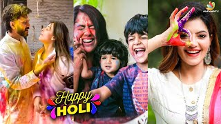 Holi-ல் Genelia-வை பழிவாங்கிய Deshmukh | Romantic Video | Sameera Reddy, Rashi Khanna, Priyanka
