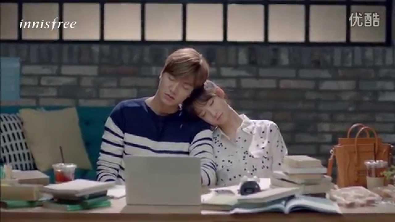 Lee Minho(이민호)李敏鎬 & Yoona允兒- Innisfree 2015 Drama 'Summer Love' 《夏日恋曲》ep2 (Chinese subtitles)