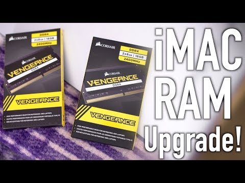 Upgrading My IMac With 32GB OF Corsair's Vengeance Memory