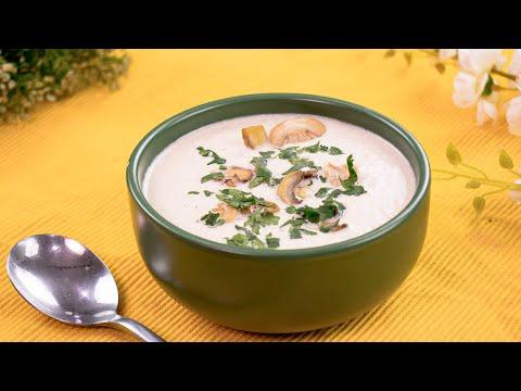Cream Of Mushroom Soup | Chicken With Cream Of Mushroom Soup By SooperChef