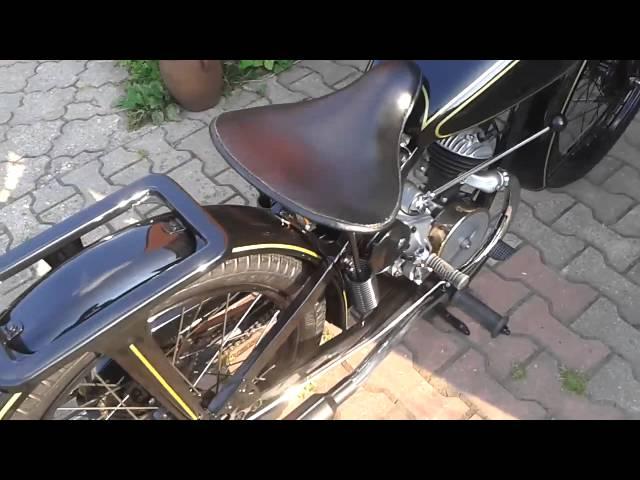 SHL 98 3KM 1939 rok   Odbudowa Motocykli Warszawa