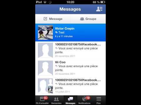 Comment gérer ses messages privés sur Facebook sans messenger !