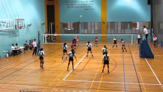 2016 B Div Girls National CGS vs PGL 2-0 1st set